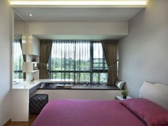 Good looking and space-efficient bay windows ideas for small bedrooms   Home & Decor Singapore