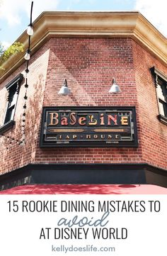 Are you planning a trip to Walt Disney World for the first time? Learn the most common rookie dining mistakes to avoid on your vacation. Plus tips to for how to make your trip better! Disney World Packing, Disney World Secrets, Disney World Rides, Disney World Magic Kingdom, Disney World Florida, Walt Disney World Vacations, Disney World Tips And Tricks, Disney World Resorts, Disney Trips