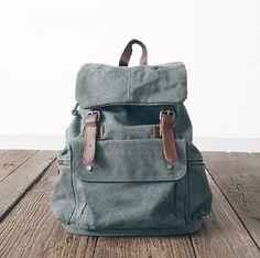 Retro Style backpack/messenger bag/ tote /canvas bag