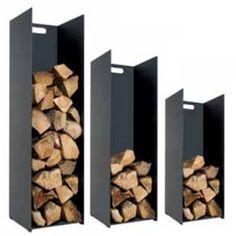 DanDiBo Firewood rack Firewood stand Storage Iron 100 cm Black Basket for firewood Shelf for firewood Firewood holder Shelf Log Store Indoor, Indoor Log Storage, Indoor Firewood Rack, Firewood Stand, Firewood Holder, Firewood Storage, Fireplace Wall, Fireplace Design, Log Holder