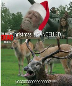 A little late,but I had to pin because this is the funniest Hershel/Christmas one I've seen yet!