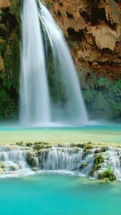 Havasu Falls, Arizona have always wanted to go here, I will wait until my kids are a bit older