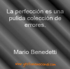 La perfección de  la imperfección