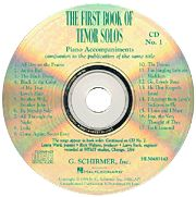 The First Book of Tenor Solos - Accompaniment CDs (Set of 2)