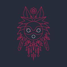 Mononoke design on @TeePublic!