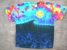 Hey, I found this really awesome Etsy listing at https://www.etsy.com/listing/130415024/sunrise-wave-tie-dye-size-xl