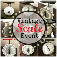 Check out our Vintage Scale Event going on NOW!