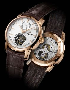 ♂ luxury watches    Luxury watches Vacheron Constantin Patrimony Traditionnelle 14-day Tourbillon unveiled