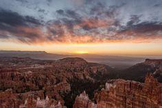 https://flic.kr/p/N3KgwY | Sunrise over Bryce | Sunrise at Bryce Canyon, Bryce Canyon National Park, Utah, USA.  2016