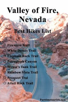 The best hikes in the Valley of Fire, Nevada! Located close to Las Vegas! Las Vegas Hiking, Las Vegas Vacation, Vacation Places, Places To Travel, Greece Vacation, Vacation Spots, Travel Destinations, Valley Of Fire State Park, Monument Valley