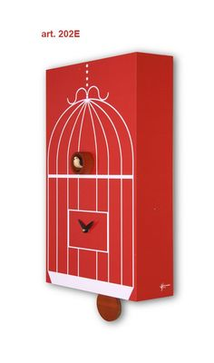 'in gabbia cuckoo' from in house design for pirondini