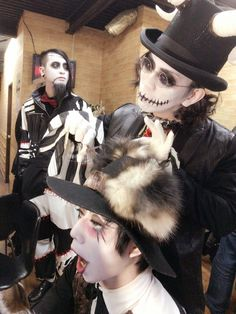 Leetspeak monsters Goth Music, Visual Kei, Monsters, Halloween Face Makeup, Bands, Japanese, Rock, Heart, Style
