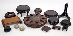 A Collection of Chinese Stands. Lot 152-3043