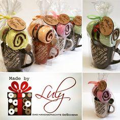 Kaffee-Pause Handgemachte Geschenke www.facebook.com/madebyLuly