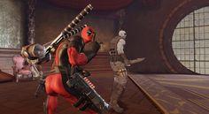 Deadpool Game Screen
