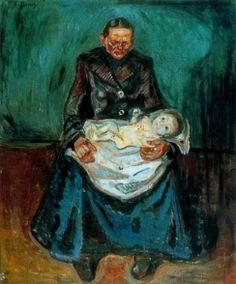 유전, 에드바르드 뭉크, 1899