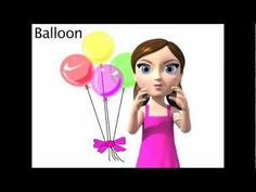 Learn the ASL sign for BALLOON - with My Smart Hands Animated Dictionary!!