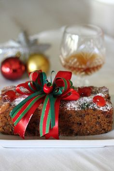 Moist Christmas Fruit Cake - super flavorful fruit cake recipe that is moist and sure to please this holiday season, get the recipe | rasamalaysia.com