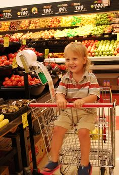 Gentle Parenting Ideas: Toddlers and Shopping Trips