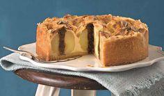 Kráľovský dezert: Koláč s plnenými pečenými jablkami