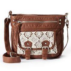 Mudd® Marian Lace Crossbody Bag
