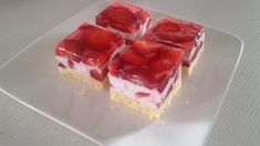 recept na red velvet Sweet Desserts, Sweet Recipes, Dessert Recipes, Czech Recipes, Russian Recipes, Food For A Crowd, Red Velvet, Food To Make, Cheesecake