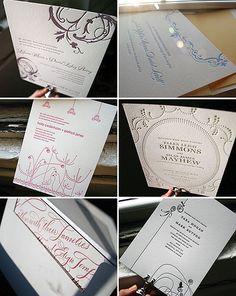 New 1 color letterpress wedding invitations - Bella Figura - http://herbigday.net/new-1-color-letterpress-wedding-invitations-bella-figura/