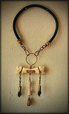 neo tribal necklace