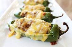 Cheesy Stuffed Peppers from @Chef Dennis {A Culinary Journey}