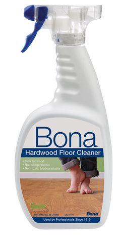 I Tried Bona Hardwood Floor Cleaner