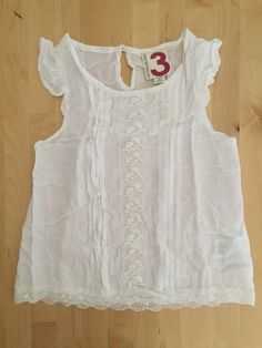 Check out this listing on Kidizen: Cotton On Kids White Embroidered Top via @kidizen #shopkidizen