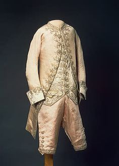 Child's Ceremonial Costume of Grand Prince Alexander Pavlovich   St Petersburg   Russia. 1784  Satin woven with metal thread, gold and silk thread; embroidered. L. of caftan 79 cm   Source of Entry:  State Museum of Ethnography of the Peoples of the USSR, Leningrad (before 1917 in the Winter Palace). 1941