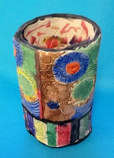 Arose D. Grade 7 (Functional Clay Cylinder)
