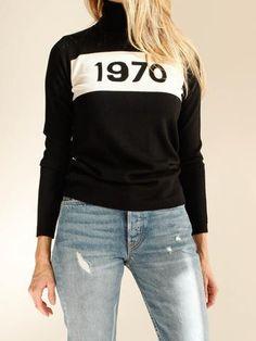 BELLA FREUD - 1970 POLO Jumper - Black