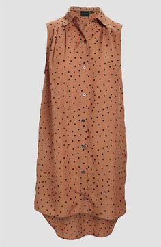 Lauren Conrad wearing Mink Pink Going Dotty Shirt Dress.