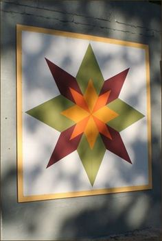 Barn Quilt Patterns To Paint Barn Quilt Designs, Barn Quilt Patterns, Quilting Designs, Art Patterns, Block Patterns, Design Patterns, Star Quilts, Quilt Blocks, Scrappy Quilts