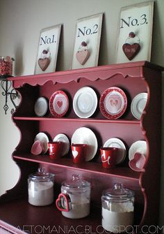 cute valentines day decor  (picture only- not a good link)