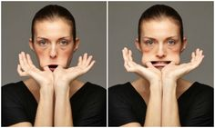Facial gymnastics for a toned face- Ginnastica facciale per un viso tonico facial gymnastics for cheeks and - Face Gym, Face Yoga, Bodybuilding Routines, Face Massage, Natural Beauty Tips, Yoga Benefits, Pilates Workout, Face Care, Yoga Inspiration