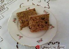 Greek Desserts, Greek Recipes, Brownie Cupcakes, Cupcake Cakes, Sweets Recipes, Cake Recipes, Bread Cake, Recipe Images, Healthy Baking