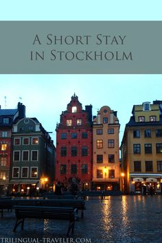 Hej hej! It's time to talk about one of my favorite cities: Stockholm, Sweden. It's a fantastic city full of so many things...