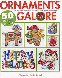 Ornaments Galore - Cross Stitch Pattern