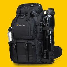 Professional Waterproof Camera Backpack Bag for 17'' Laptop DSLR Canon EOS Nikon   eBay