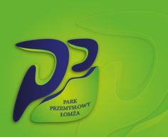 Logo Parku Przemysłowego Łomża on Behance