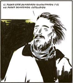 El poder está demasiado concentrado y el no poder demasiado extendido (El Roto, 2012-10-11)