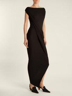 Vian draped-front jersey dress   Vivienne Westwood Anglomania   MATCHESFASHION.COM UK