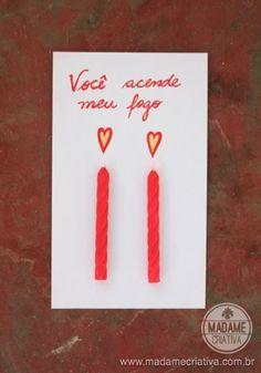 Cartões Criativos para dias dos namorados - Cartão de amor bem humorado - Madame Criativa