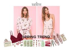 """Spring Trend"" by dreamy-darling ❤ liked on Polyvore featuring Yeah Bunny, American Eagle Outfitters, 10 Bells, Tarina Tarantino, L'Occitane, Annalee and Nails Inc."