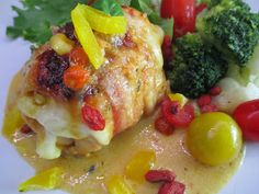Tinskun keittiössä: Juustoinen hedelmäbroileri