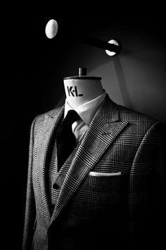 Three piece suit. Love