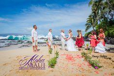 Maui Weddings Ginger Path, Makena Cove, Secret Cove